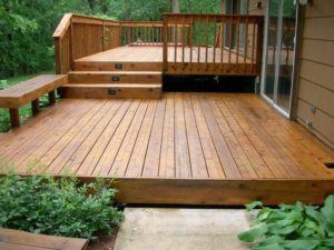 Designing a deck
