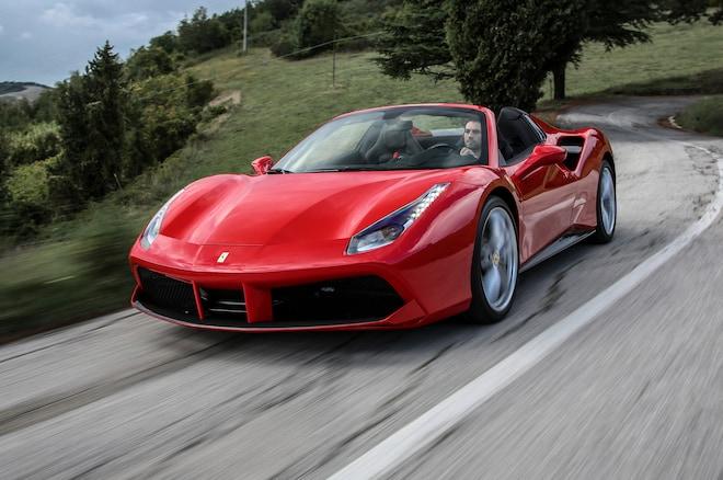 luxury car hire italy
