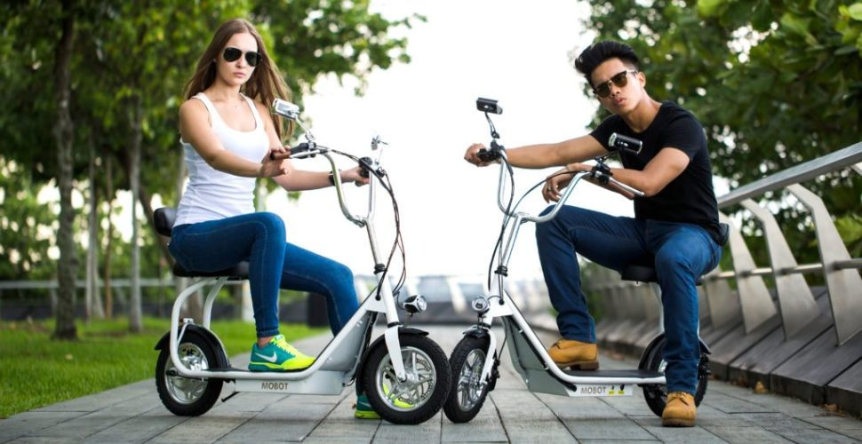 Need cheap transportation? Get an electric scooter!