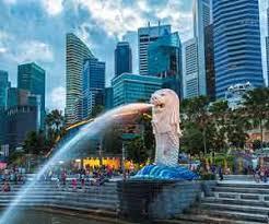 locations of Singapore